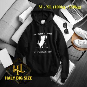 Áo hoodie big size giá rẻ tphcm