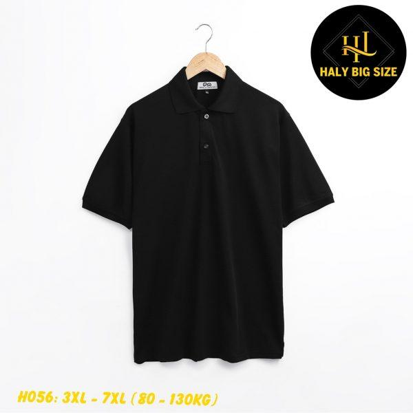 H056-ao-thun-polo-nam-big-size-tay ngan-co-co-don-sac 1