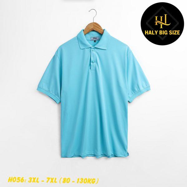 H056-ao-thun-polo-nam-big-size-tay ngan-co-co-don-sac 2