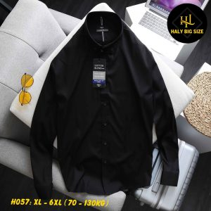 H057-ao-so-mi-nam-tay-dai-big-size-kate-cao-cap-1